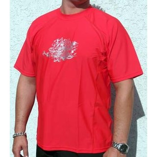 Typhoon8 - Red Dragon Shirt MEN